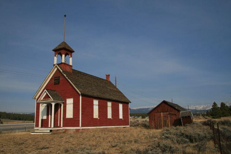 Old School House in Leadville, Colorado