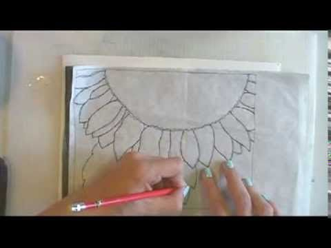 Paint a Sunflower in Watercolor Part 1: Getting Started