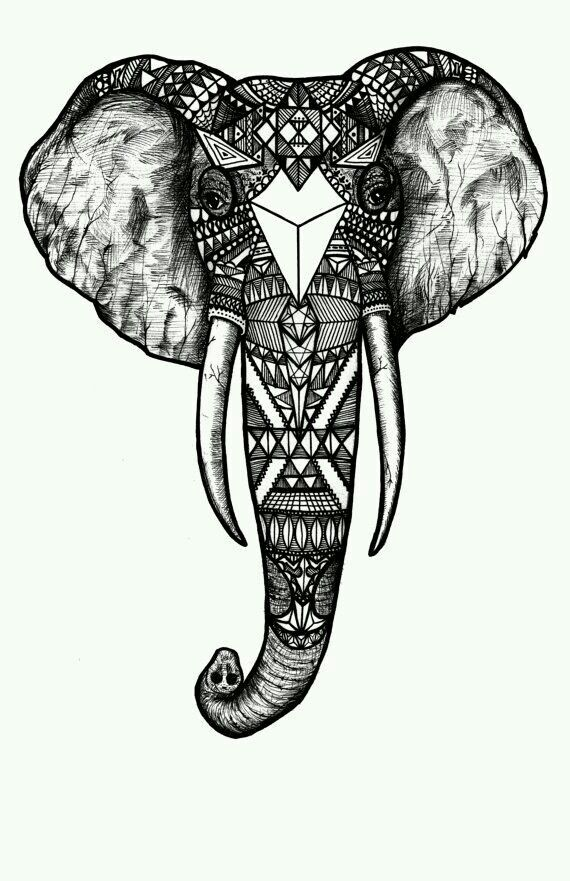 elefante tinta elefantes pinterest tattoo tattoo elephant and