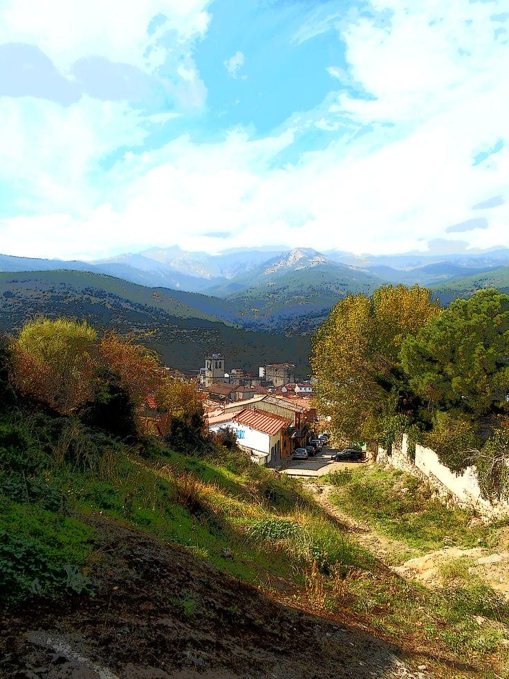 Vista desde el Monte de San Agustin.