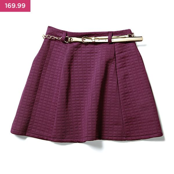Flirt up a storm with this winter skirt! Part of the LUV DR range.