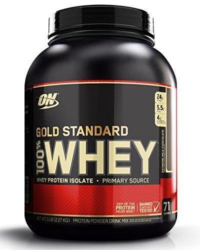 Optimum Nutrition Gold Standard 100% Whey Protein Powder Extreme Milk Chocolate 5 Pound