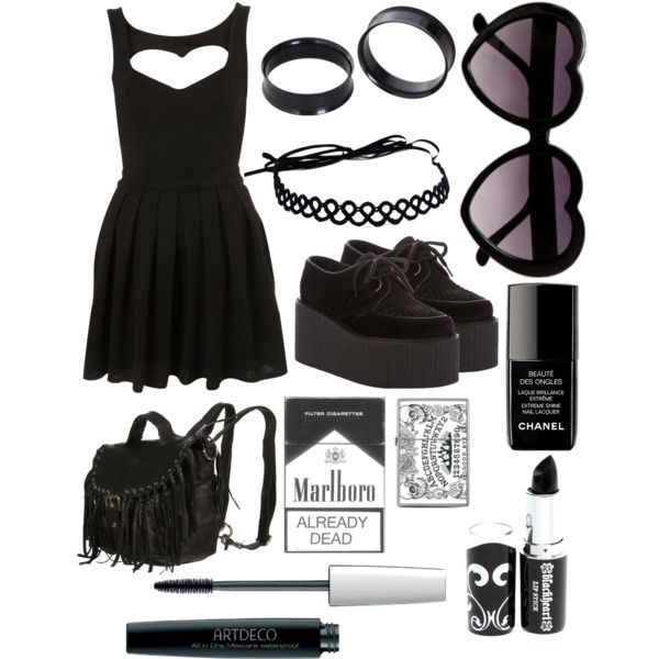 """I'm not going to bother picking this apart about the couple of things I do NOT like about this. But still. """"Forever Whatever"""" by creepy-ghost on Polyvore"""