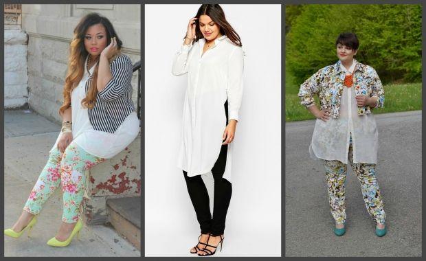 Мода для полных женщин весна-лето 2016