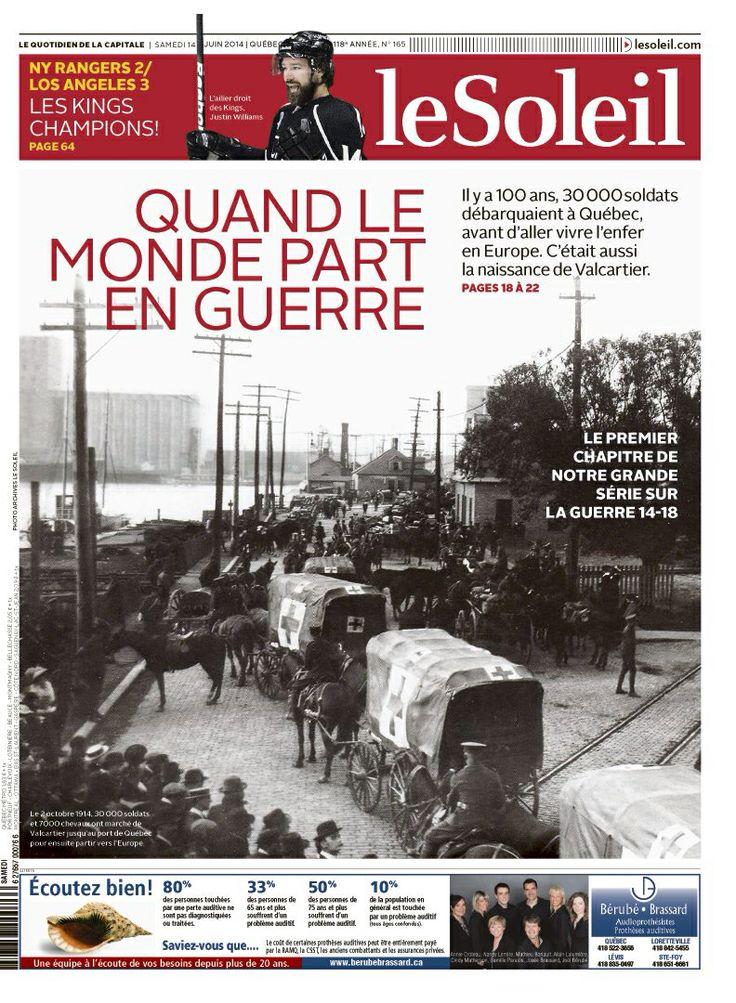 Le Soleil, 14 juin 2014 (Québec)