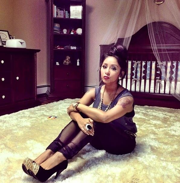 Celebrity Nursery Design Reveal Mel B: #Snooki Showing Off Her #Bellini Nursery
