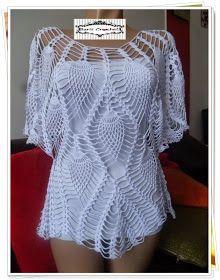 Agujas Charmed: Gisele blusa con la lección en video ganchillo!