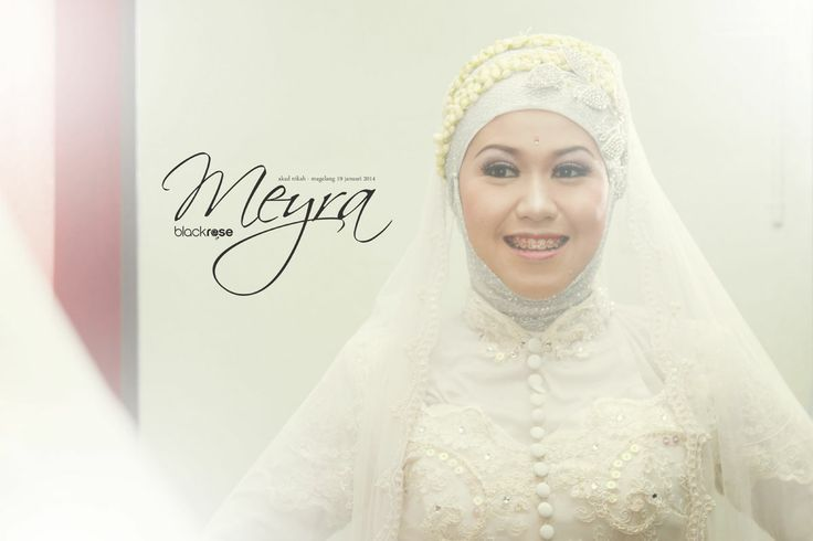 """"""" MY REFLECTION """" wedding meyra and dhito www.facebook.com/pages/Blackrose-Pictures/349568915159712 #woman #marriage #hijab #culture #ceremonial #cry #smile #sweet #photograph #kebaya #traditionalwedding #white #java #indonesianwedding #reflections #mirror"""