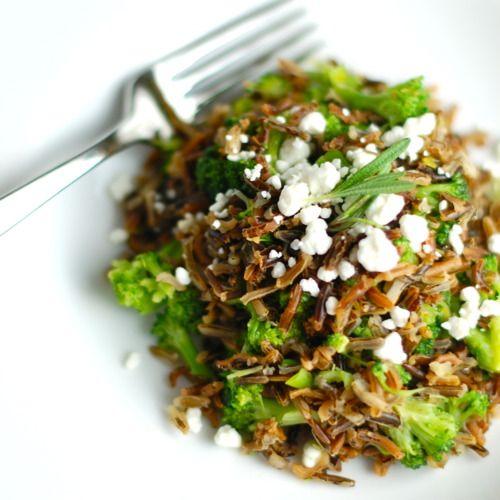 Rosemary, Goat Cheese, & Wild Rice Dinner Salad.