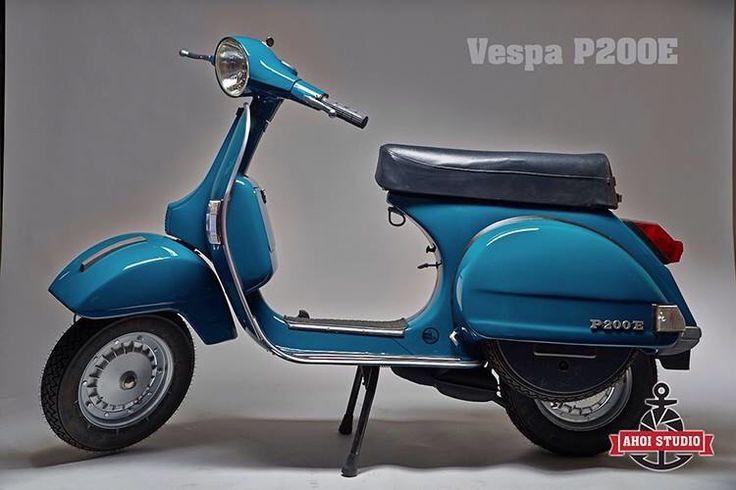 Vespa P 200 E 1979
