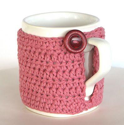 Lady Crochet: Mug cozies