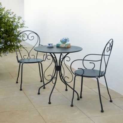 a perfect sized bistro set for a patio area the image posted is a newer version of how the set l