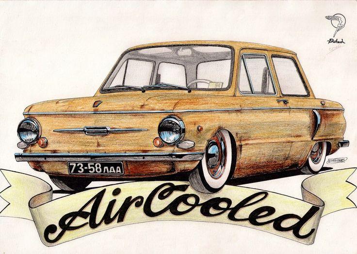 ЗАЗ 968А ''AirCooled''