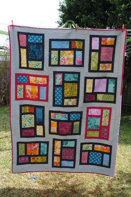 Kitchen Window quilt #2 Finished!! | Flickr - Photo Sharing!
