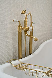 Bathroom Faucets In Gold Tone 316 best brass/gold is back! images on pinterest | bathroom ideas