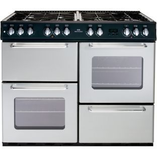 Buy New World NW 100GT Silver Range Cooker - Instal/Del/Rec at Argos.co.uk - Your Online Shop for Freestanding cookers.