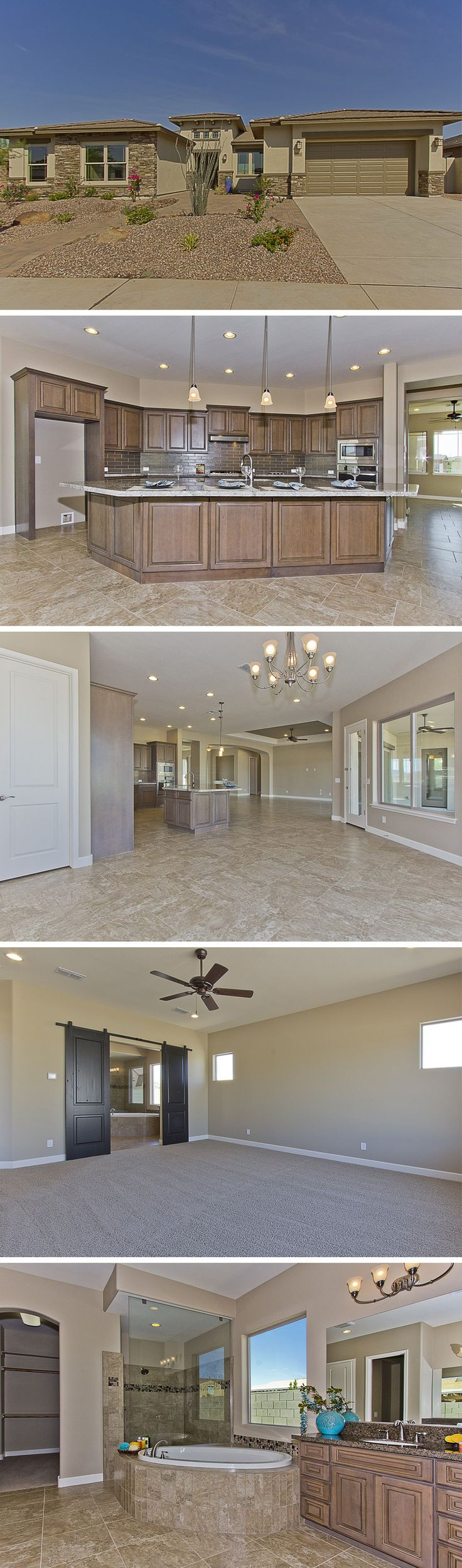 Not your ordinary home! The Yucca is  move-in ready at 5112 S Ponderosa Dr in Gilbert, AZ!