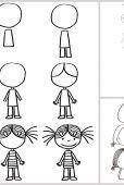Les enfants aiment faire de beaux dessins, mais n'ont pas toujours la bonne technique pour dessiner ce qu'ils ont en tête. Voici quelques idées bien utiles pour les aider à dessiner.