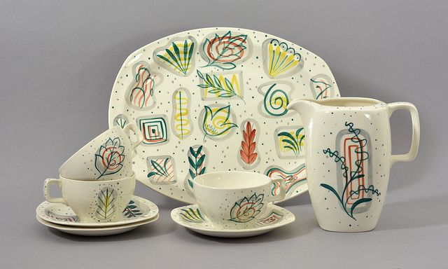 'Prima Vera' by Jessie Tait for Midwinter Pottery | Flickr - Photo Sharing!