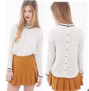 OEM 2015 Mujeres Modelo blusa de uniforme nuevo diseño de la gasa de las señoras de la blusa