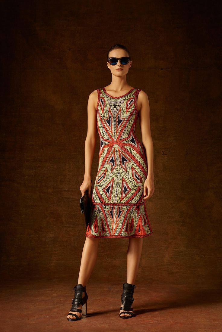 Hervé Léger by Max Azria - Pre-Fall 2015 - Look 18 of 33