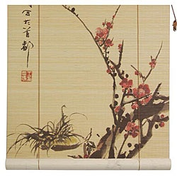Amazon.com - Oriental Furniture Sakura Blossom Bamboo Window Blinds, 36-Inch Wide -