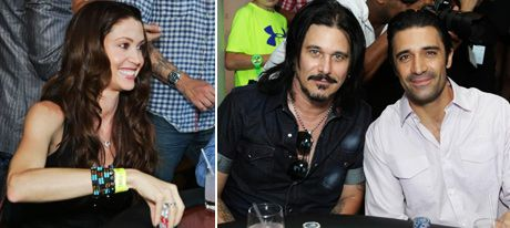 Elizabeth-Shannon-Gilby-Clarke-Giles-Marini at the GBK pre ESPN Gifting Lounge and poker tournament