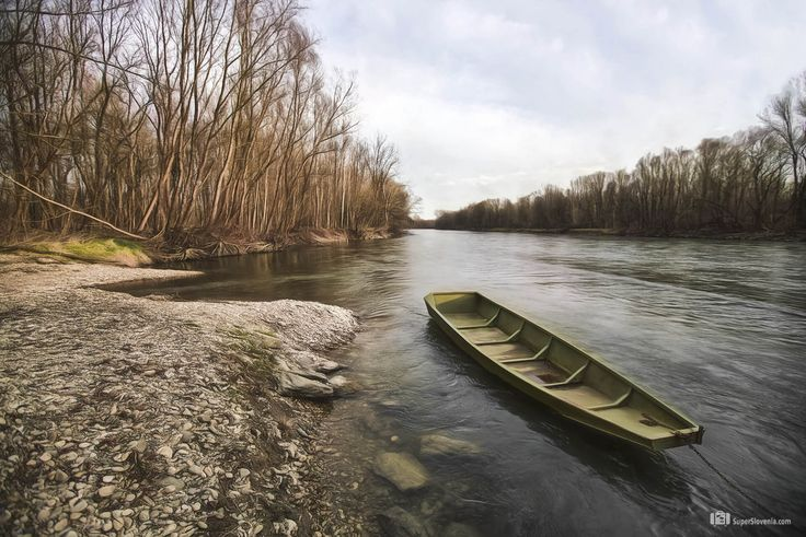 Nagrajujemo fotografije iz Slovenije... www.superslovenia.com  #Wooden boat, #Mura #River, Otok ljubezni, #Beltinci, #Slovenia