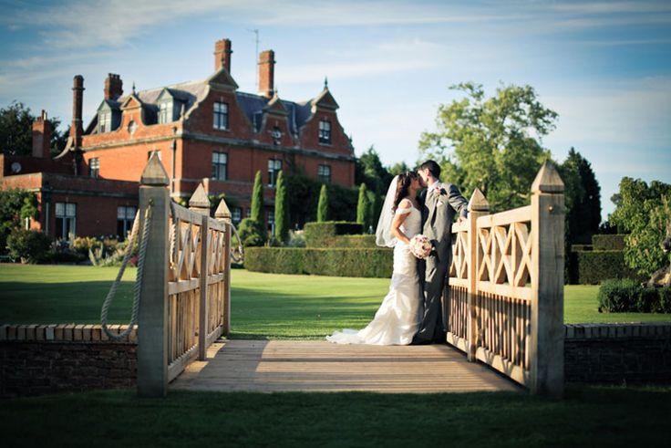 Chippenham Park wedding venue in Cambridgeshire #bridge