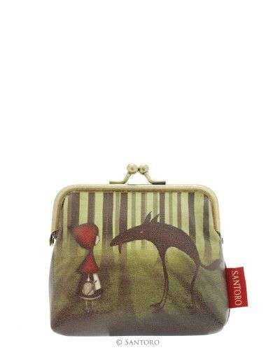 Santoro London - Peněženka se sponou - Red Riding Hood