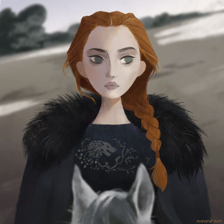 Sansa Stark from Season 6.  A bit of an unpopular opinion but I really like Sansa. She's grown so much over the years and I'm excited to see her developed further in this upcoming season!
