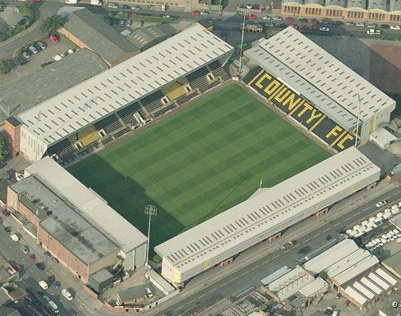 Meadow Lane - Aerial - Notts County FC