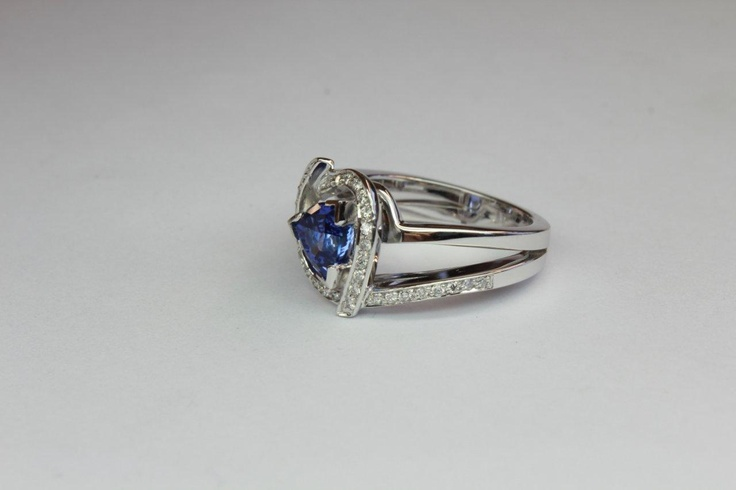 tanzanite engagement ring jackfriedman.co.za
