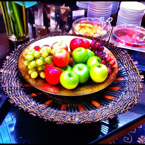 Fresh fruit in our Club Lounge.