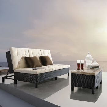 Euro Patio Lounger by Sirio™ (at costco)...turns into a chaise lounge!!!