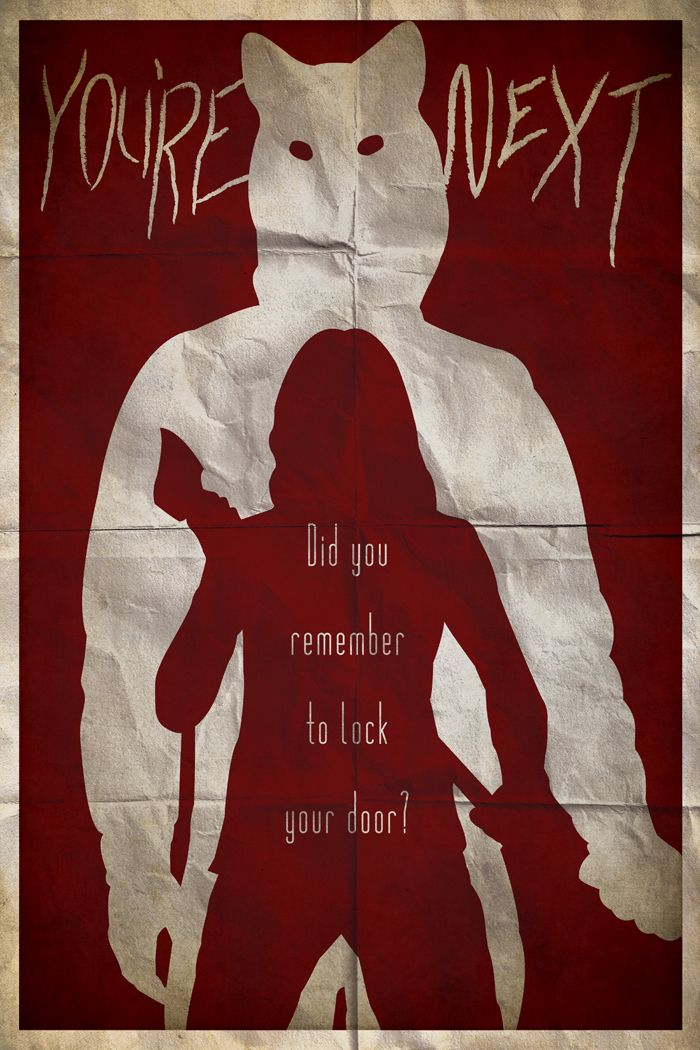 You're Next - horror movie poster