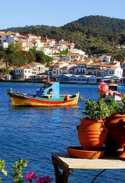 Samos Island, Greece. I loved the places we visited in Greece and absolutely cannot wait to get back there again one day.