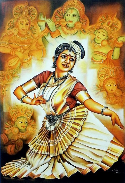 80 best images about indian art forms on pinterest for 3d mural painting tutorial