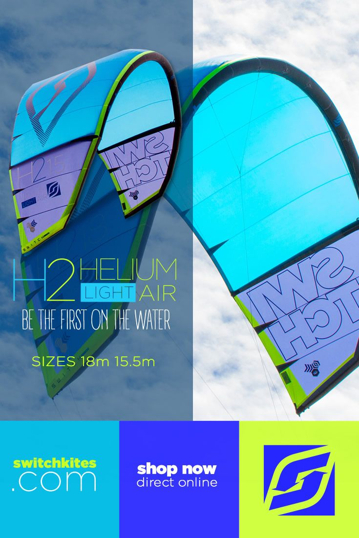 Be the 1st on the water with your Helium2. Designed for all riders that want to increase their time on the water by maximizing light wind conditions. The new Helium2 provides dependable light-air riding with surprising agility. New for this year we've added a 15.5m size to the  already established and loved 18m Helium dedicated light wind kite. The new 15.5m and 18m are the perfect blend of low-end power, turning speed & super stability.