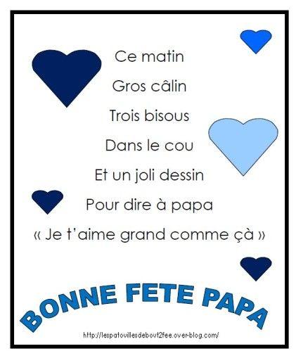 poème pour papa