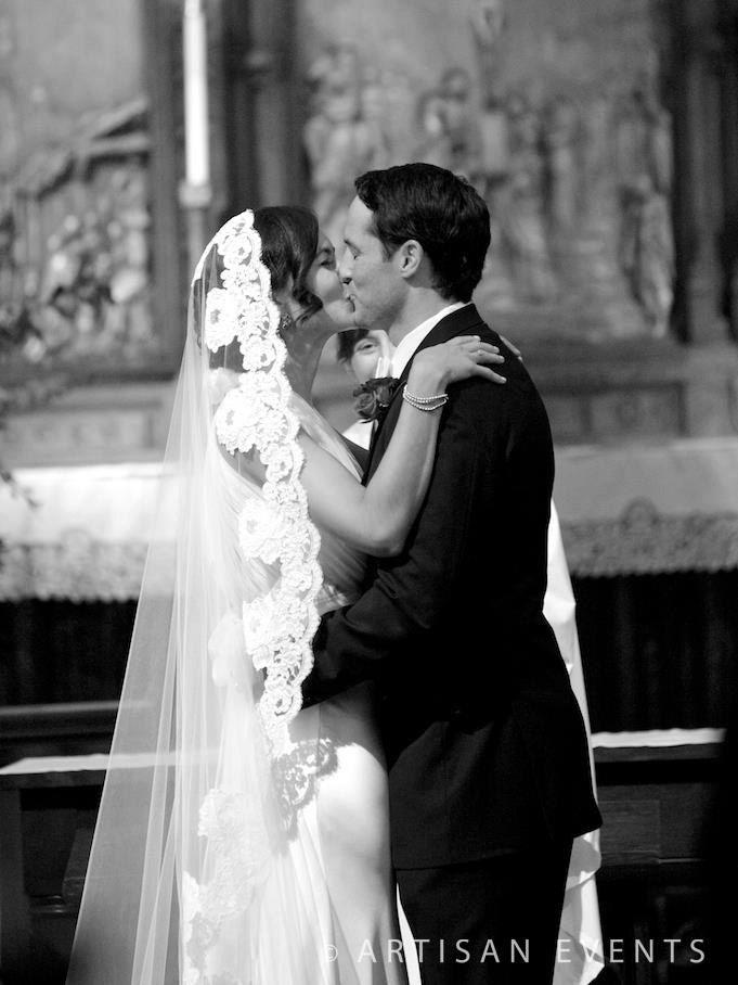 Wedding Veil - Cathedral French Bridal Alencon Lace Mantilla Veil - Ivory, Light Ivory, Dark Ivory, White - made to order. via Etsy.