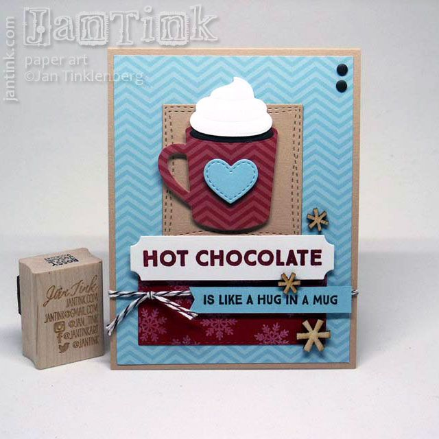 card MFT Hot Cocoa Cups Die-namics - hot cocoa mug ...