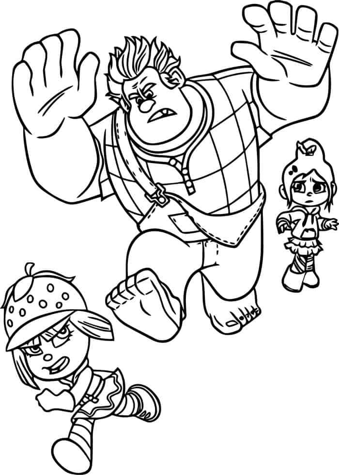 Free Coloring Pages Wreck It Ralph Disney Princess Coloring Pages Princess Coloring Pages Coloring Pages