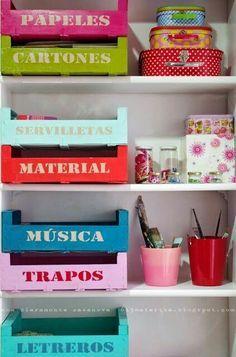 Ideas organizadores habitación chicas...