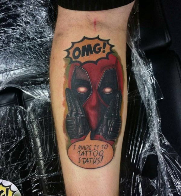 Ryan Reynolds Would Love These Deadpool Tattoos : theBERRY