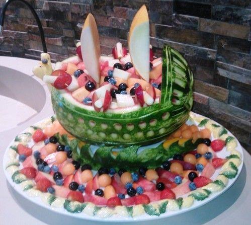 Barca x Composta di Frutta, vista centrale