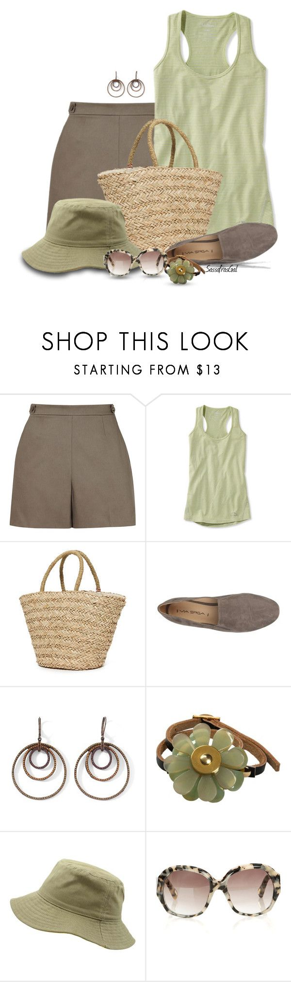 """""""Summer Bag"""" by sassafrasgal ❤ liked on Polyvore featuring Sundry, Via Spiga, MNG by Mango, Marni and Marc Jacobs"""