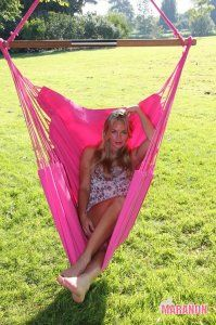 NewLine Hanging Chair XL pink [XL] - €99.00 : High Quality Hammocks, Hanging Chairs, Stands and Accessories, Marañon World of Hammocks