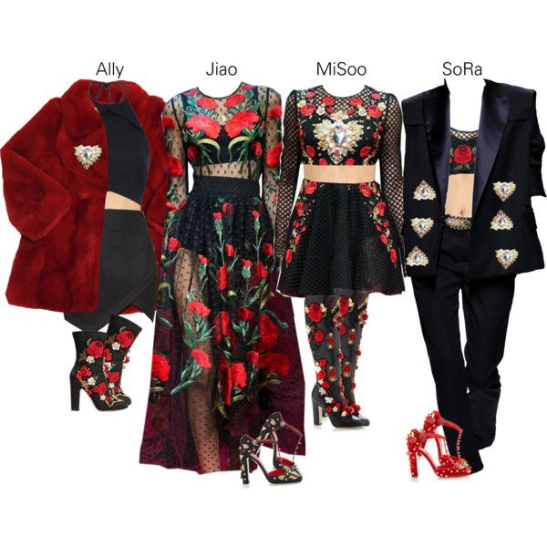 Untitled #180 by teeewa on Polyvore featuring polyvore fashion style Rebson Topshop ViX Dolce&Gabbana Balmain