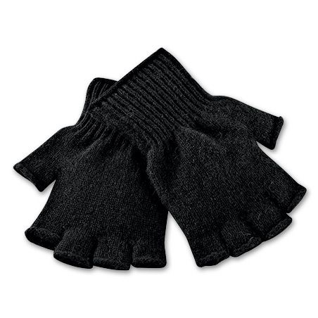 Bison Fingerless Gloves